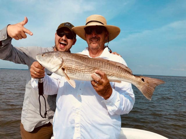 Beaufort Cast Away Charters Captains Joe and Zach