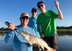 Beaufort Cast Away Charters finhing with Beaufort Cast Away Fishing Charters