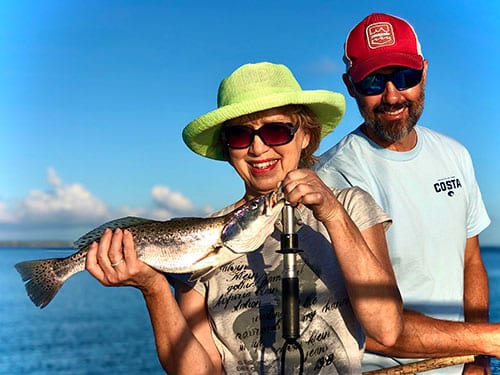 Fishing with Beaufort Cast Away Charters
